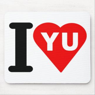 i_love_Yugoslavia.png Mouse Pad