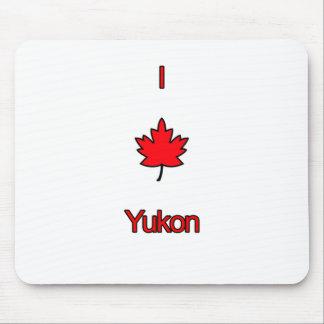 I Love Yukon Mouse Pad