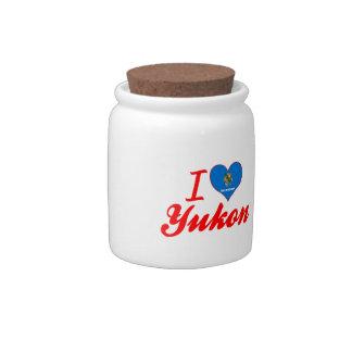 I Love Yukon, Oklahoma Candy Jar