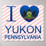 I Love Yukon, PA Poster