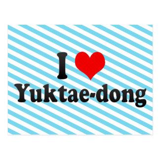 I Love Yuktae-dong Korea Post Cards