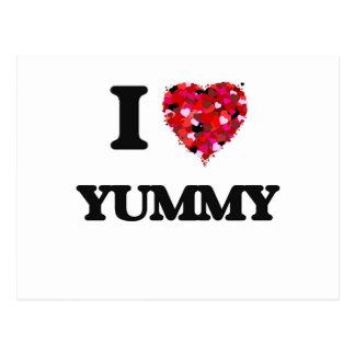 I love Yummy Postcard