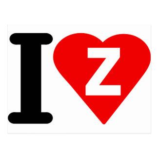 I-LOVE-Z. POSTCARD