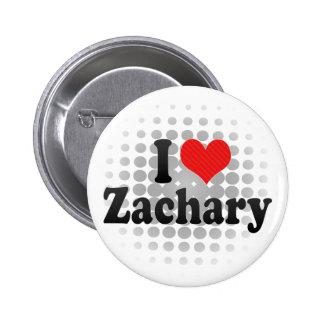 I Love Zachary Pin