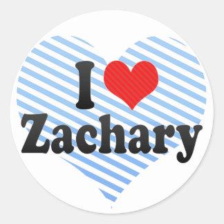 I Love Zachary Stickers