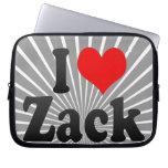 I love Zack Laptop Computer Sleeve