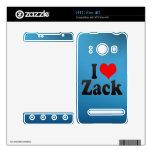 I love Zack Skin For HTC Evo 4G