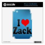 I love Zack Skin For The iPhone 3