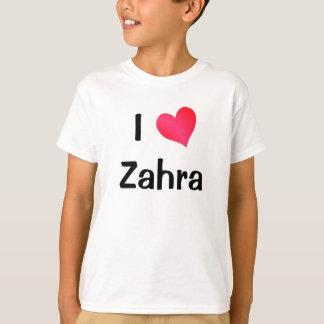 I Love Zahra T-Shirt