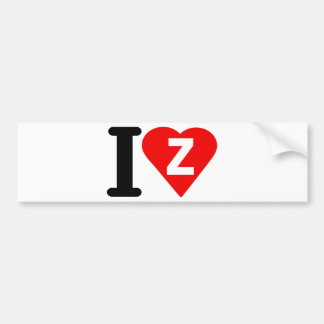 i-love-zambia.png bumper sticker
