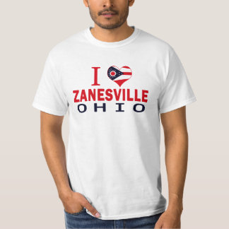 I love Zanesville, Ohio T-Shirt