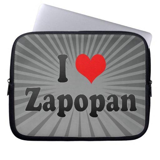 I Love Zapopan, Mexico Laptop Computer Sleeve