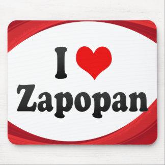I Love Zapopan, Mexico Mouse Pad