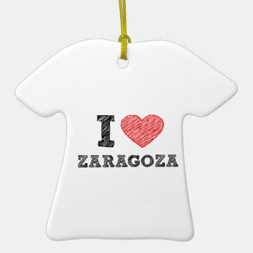 I-love-Zaragoza Christmas Tree Ornament