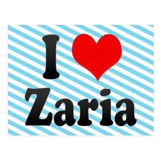 I Love Zaria, Nigeria Postcard