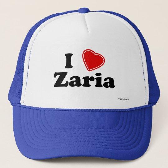 I Love Zaria Trucker Hat