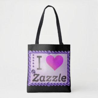 I Love Zazzle Diamonds Tote Bag