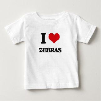 I love Zebras Infant T-shirt