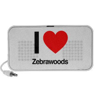 i love zebrawoods travelling speaker
