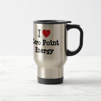 I love Zero Point Energy heart custom personalized Travel Mug