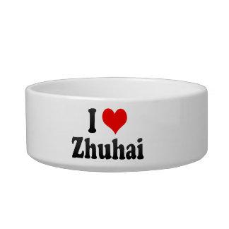 I Love Zhuhai, China. Wo Ai Zhuhai, China Cat Bowl