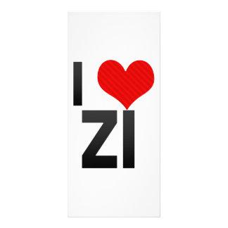 I Love ZI Rack Card Design