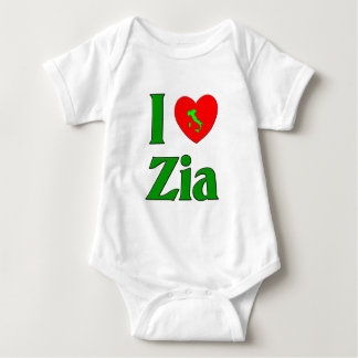 I Love Zia Baby Bodysuit
