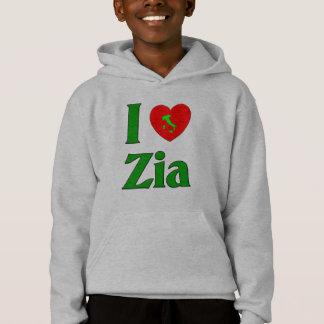 I Love Zia (Italian Aunt) Hoodie