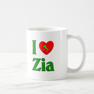 I Love Zia Classic White Coffee Mug