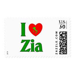 I Love Zia Postage