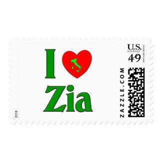 I Love Zia Stamp