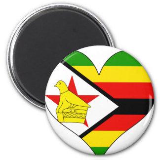 I Love Zimbabwe Magnet