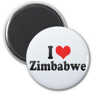 I Love Zimbabwe Fridge Magnet