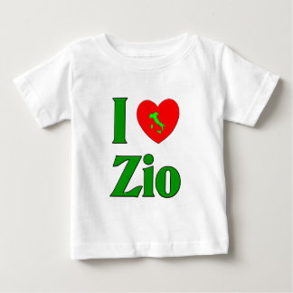 I Love Zio Baby T-Shirt