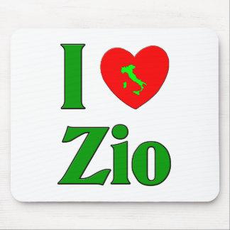 I Love Zio Mouse Pad