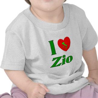 I Love Zio Tshirts