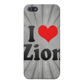 I Love Zion, United States Case For iPhone 5