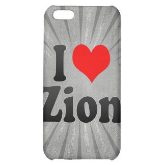I Love Zion, United States Case For iPhone 5C