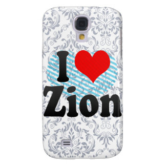 I Love Zion, United States Galaxy S4 Covers