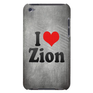 I Love Zion, United States iPod Case-Mate Case
