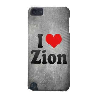 I Love Zion, United States iPod Touch 5G Case