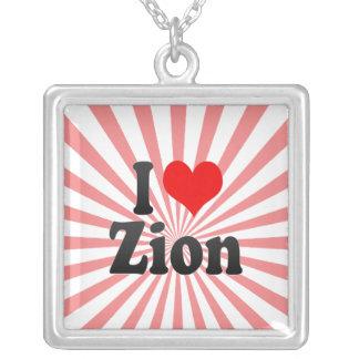 I Love Zion, United States Pendants