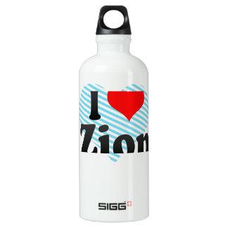 I Love Zion, United States SIGG Traveler 0.6L Water Bottle