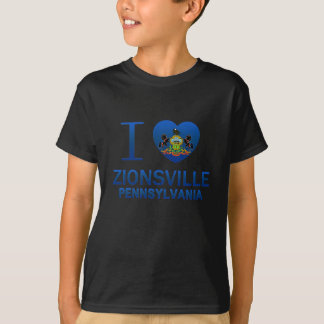 I Love Zionsville, PA T-Shirt