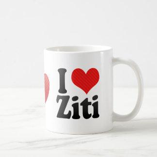 I Love Ziti Coffee Mug
