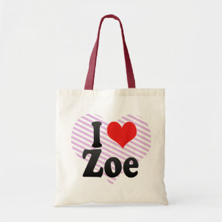 I Love Zoe Bag