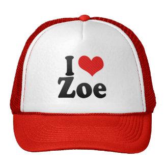 I Love Zoe Hat
