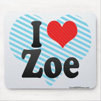 I Love Zoe Mousepad