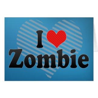 I Love Zombie Cards