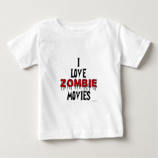 I love Zombie movies Infant T-shirt